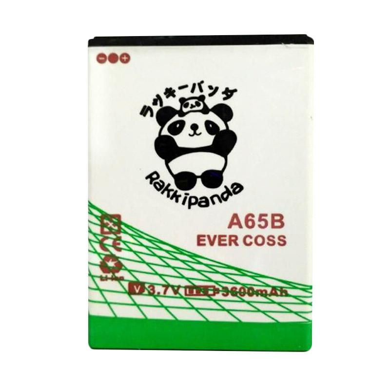 BATTERY BATERAI DOUBLE POWER DOUBLE IC RAKKIPANDA EVERCOSS CROSS A65B WINNER X3 3600mAh