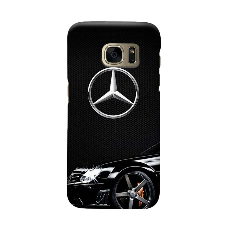 Indocustomcase Mercedes Benz Cover Casing for Samsung Galaxy S6 Edge