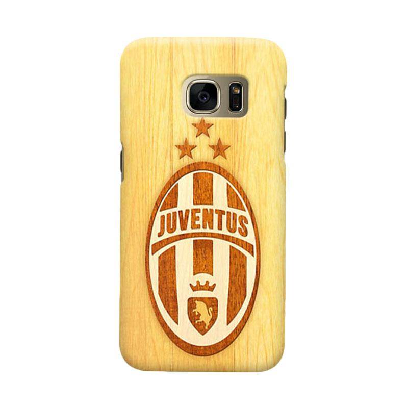 Indocustomcase Juventus FC JFC07 Cover Casing for Samsung Galaxy S6