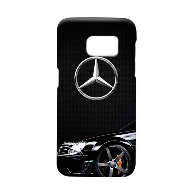 Indocustomcase Mercedes Benz Casing For Samsung Galaxy S7 Edge