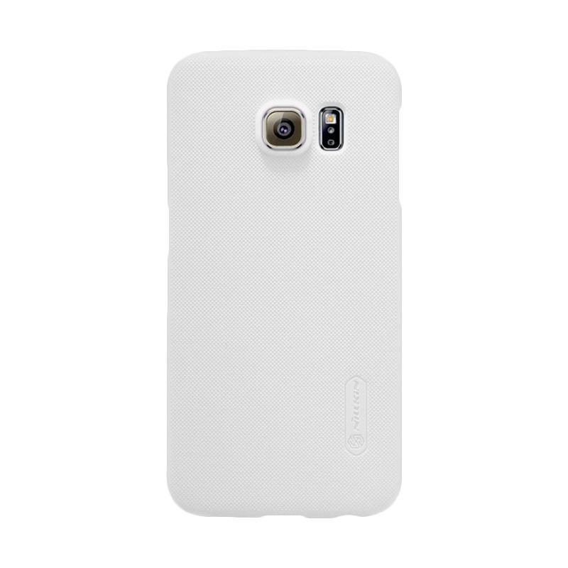 Nillkin Super Shield Original Hardcase Casing for Samsung Galaxy S6 Edge - White [1 mm]