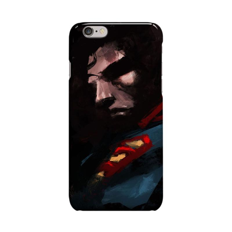 Indocustomcase Superman Art Cover Casing for iPhone 6 Plus or 6S Plus