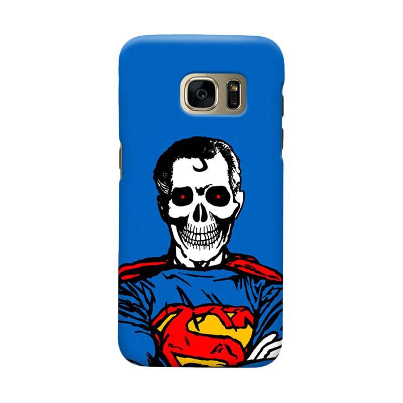 Indocustomcase Superman Dead Casing for Samsung Galaxy S7 Edge