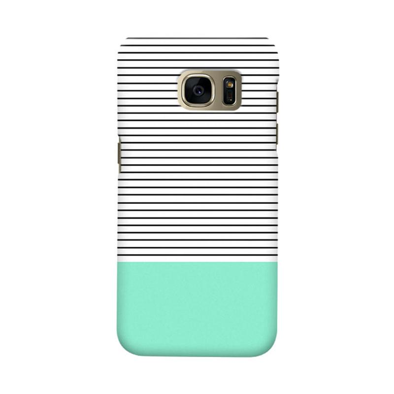 Indocustomcase Minimal Strips Cover Casing for Samsung Galaxy S6