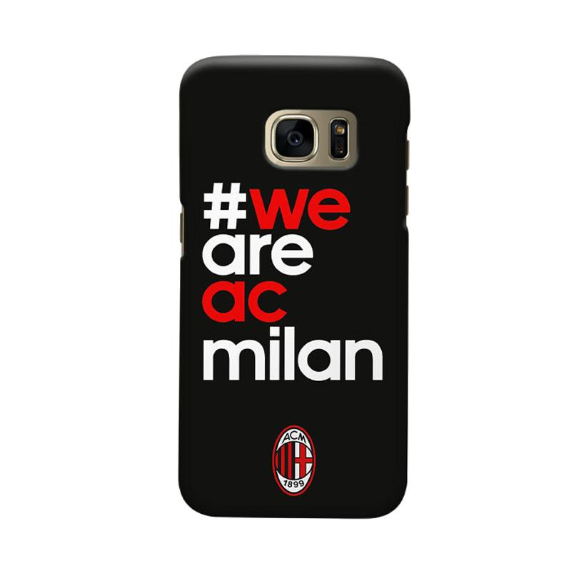 Indocustomcase We Are Milanisti Cover Casing for Samsung Galaxy S6