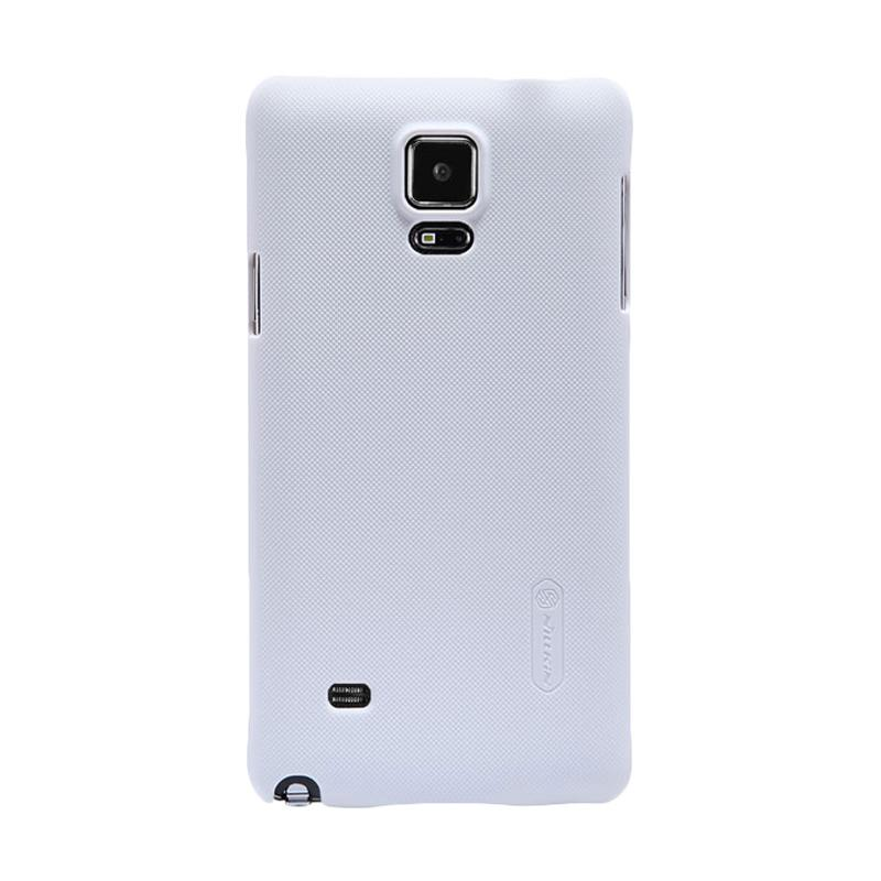 Nillkin Original Super Shield Hardcase Casing for Samsung Galaxy Note 4 - White [1 mm]