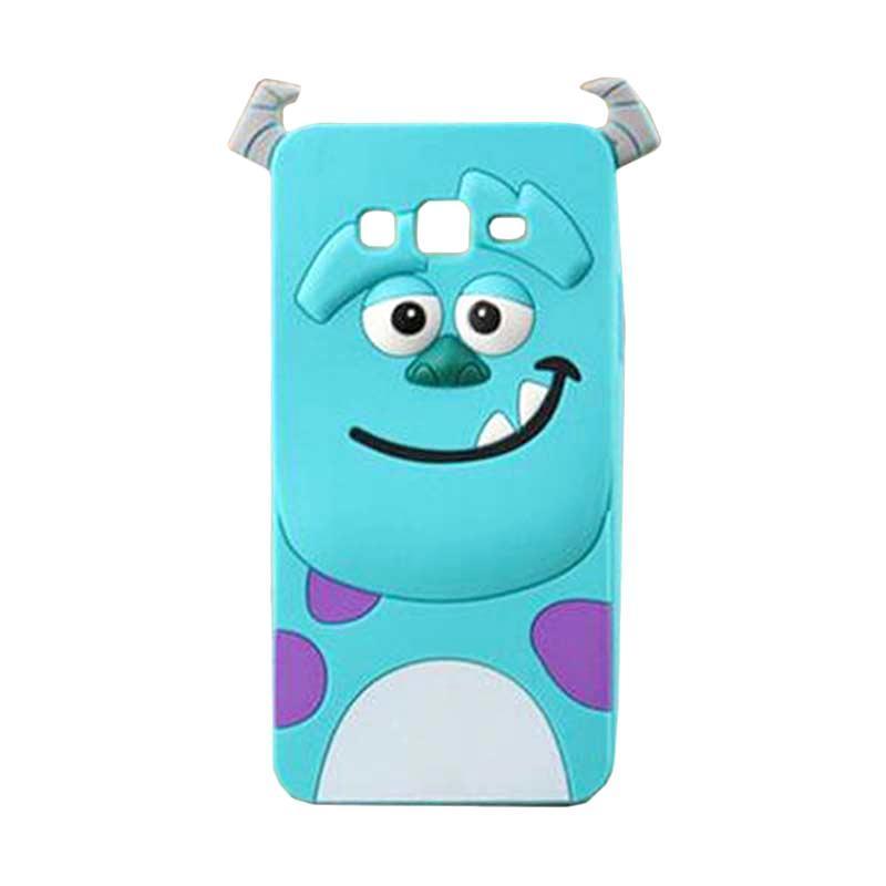 harga Silicon 3D Kartun Karakter Sulley Softcase Casing for Samsung Galaxy Note 4 Blibli.com