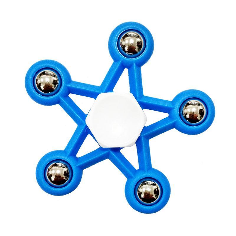 Aimons Hand Spinner Fidget Bintang Focus Toys Games Mainan Spinner Tangan