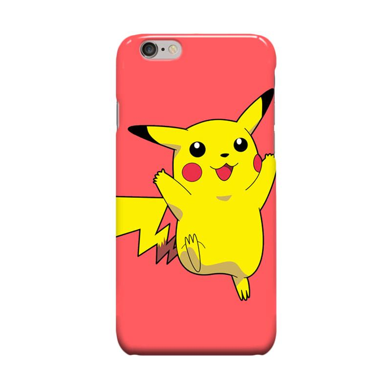Indocustomcase Pokemon Cover Casing for Apple iPhone 6 Plus or 6S Plus