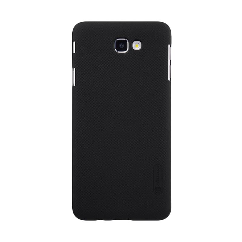 Nillkin Original Super Shield Hardcase Casing for Samsung Galaxy J7 Prime - Black [1 mm]