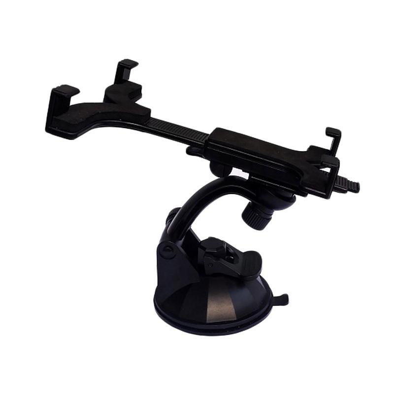 AIC Universal Durable Car Mount Holder for Galaxy Tab iPad or Tablet PC - Hitam