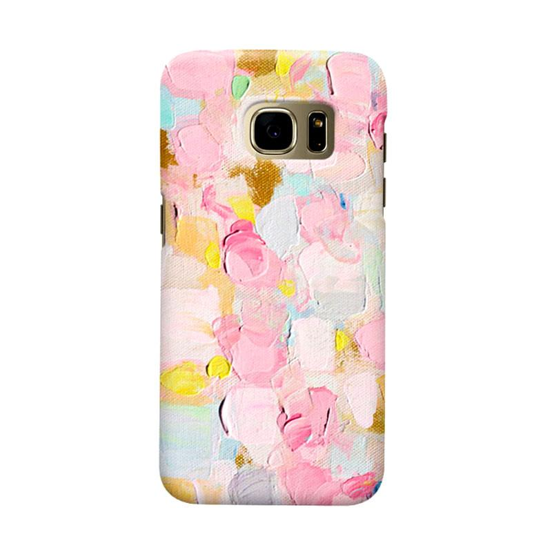 Indocustomcase Cotton Candy Cover Casing for Samsung Galaxy S7 Edge