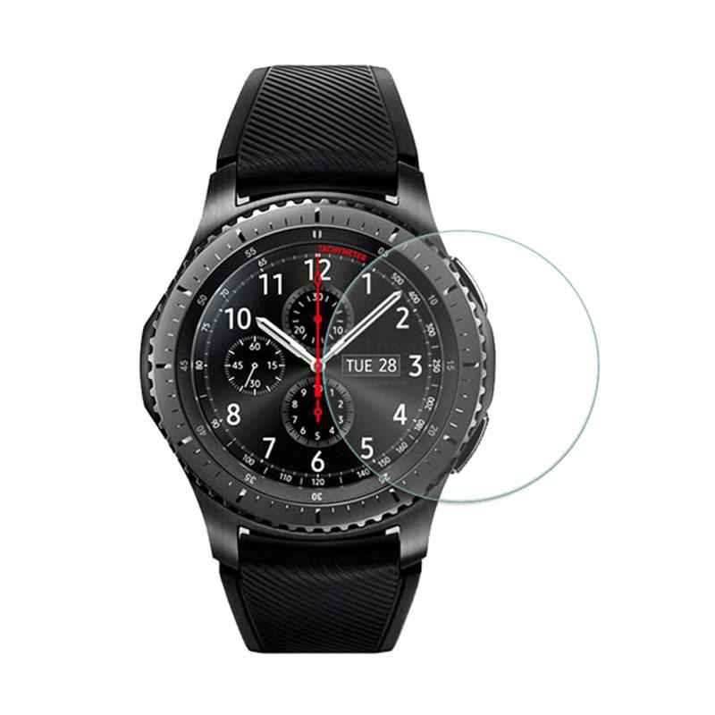 harga HMC Tempered Glass Screen Protector for Samsung Gear S3 1,3 Inch [2.5D/Real Glass & Real Tempered] Blibli.com