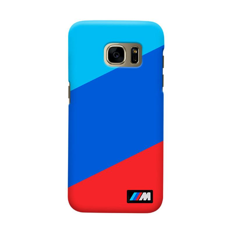 Indocustomcase BMW Stripes Casing for Samsung Galaxy S7 Edge