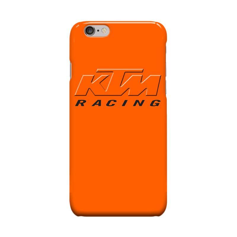 Indocustomcase KTM Racing Logo Casing for Apple iPhone 6 Plus or 6S Plus