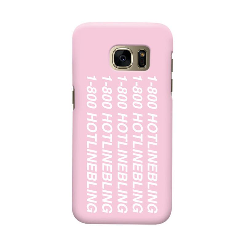 Indocustomcase Hotline Bling Cover Casing for Samsung Galaxy S7 Edge