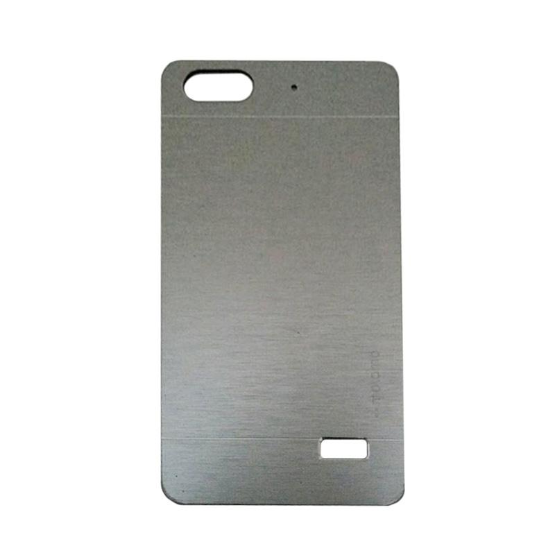 Motomo Metal Hardcase Backcase Casing for Huawei Honor 4C/Gplay Mini/Huawei 4C - Silver