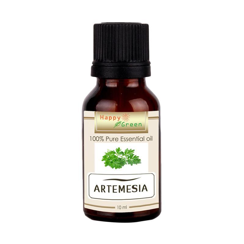 Happy Green Artemesia Essential Oil - Minyak Wormwood Mugwort Armoise [10 mL]