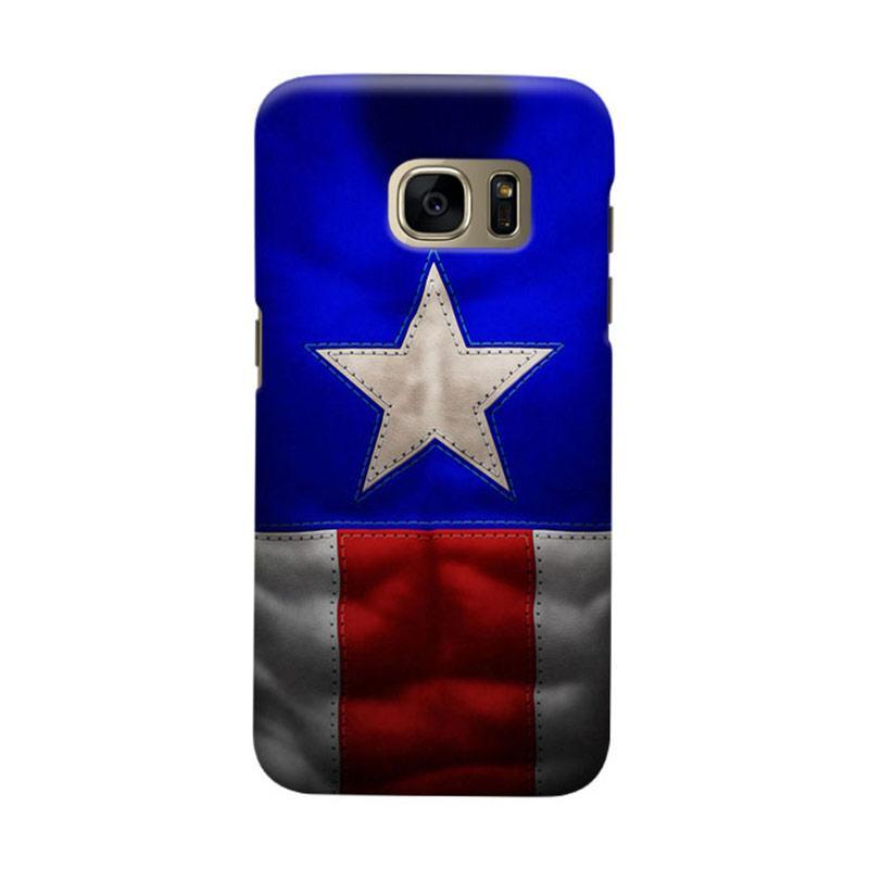 Indocustomcase Captain America CAS03 Cover Casing for Samsung Galaxy S6