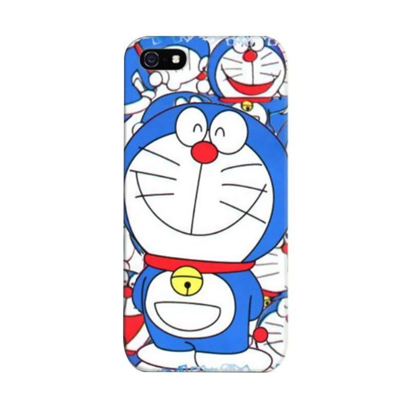 Indocustomcase Doraemon Sticker Bomb 2 Cover Casing for Apple iPhone 5/5S/SE