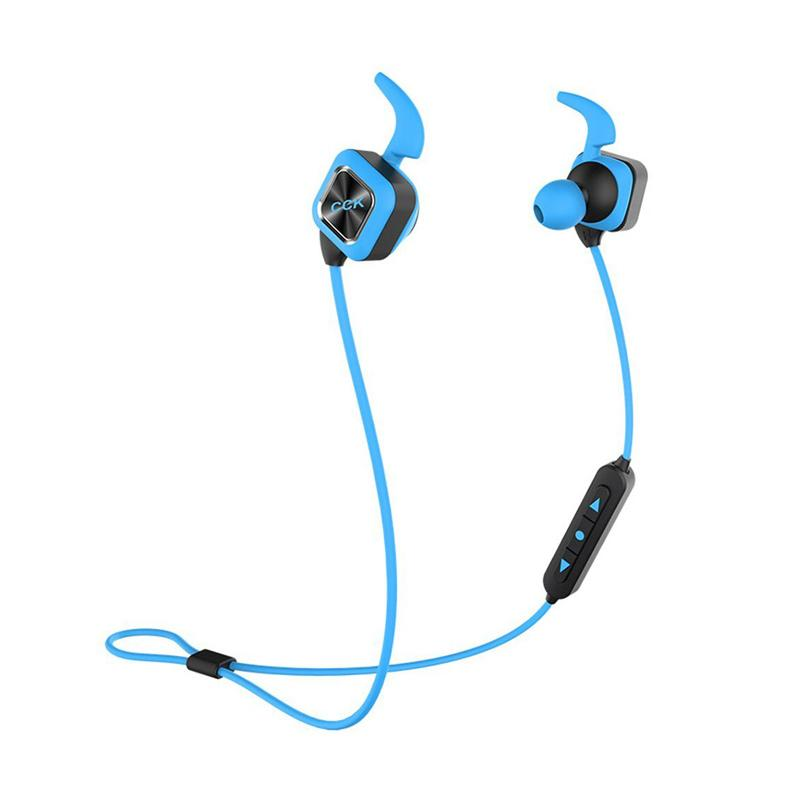 Bluedio CCK KS Plus Bluetooth 4.1 Outdoor Sports Stereo Wireless Headset - Biru