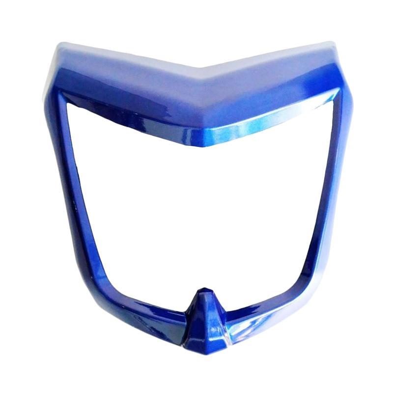 harga Raja Motor Aksesoris Motor Ring Lampu Depan Vixion Plastik - Biru [RLD3031-Biru] Blibli.com