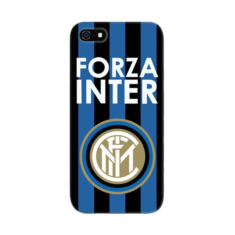 Indocustomcase Forza Inter Milan FC Cover Hardcase Casing for iPhone 5/5S/SE