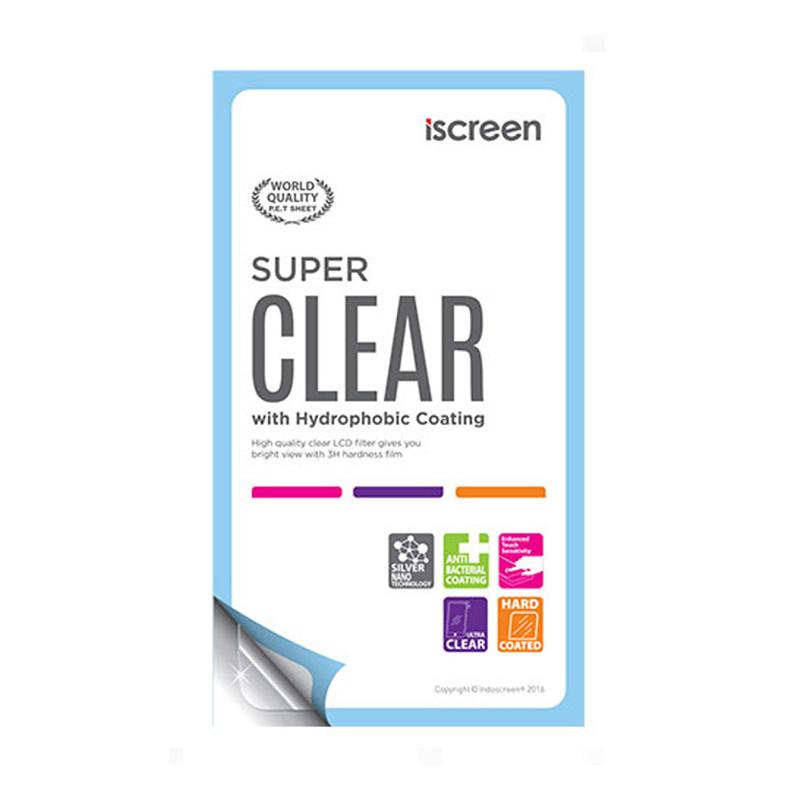 Indocreen iScreen Anti Gores Screen Protector for Asus Zenfone GO 5.0 New - Clear