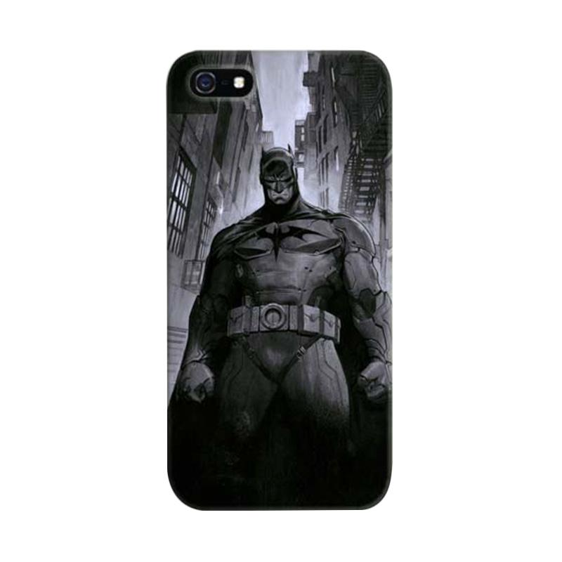 Indocustomcase Batman Custom Cover Hardcase Casing for Apple iPhone 5/5S/SE