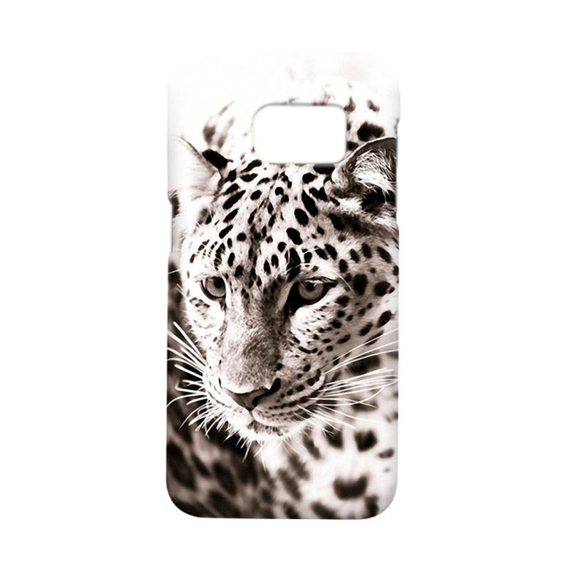 Indocustomcase Snow Leopard Casing For Samsung Galaxy S7 Edge