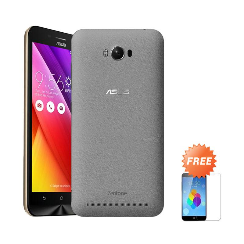 Ultrathin Aircase Casing for Asus Zenmax ZC550KL - Black Clear [Best Seller] + Free Tempered Glass