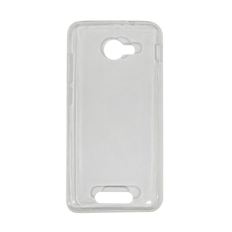 VR Ultrathin Silicone Jelly Softcase Casing for Smartfren Andromax B - Transparant