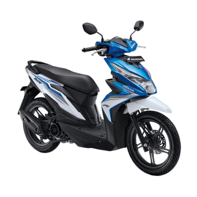 harga Honda All New BeAT eSP FI Sporty CBS ISS Sepeda Motor - Electro Blue White [OTR Jadetabek] Blibli.com