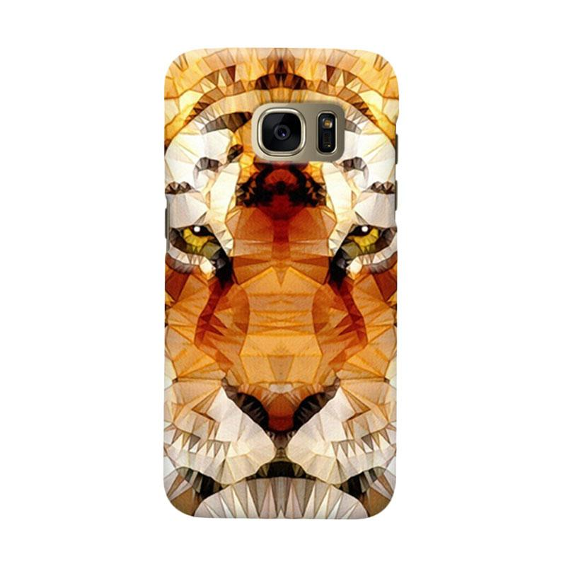 Indocustomcase Tiger Bubble Ghume Cover Casing for Samsung Galaxy S6
