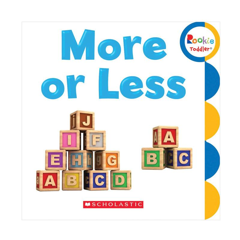 harga Scholastic Import More Or Less Rookie Toddler by Childrens Press Buku Anak Blibli.com