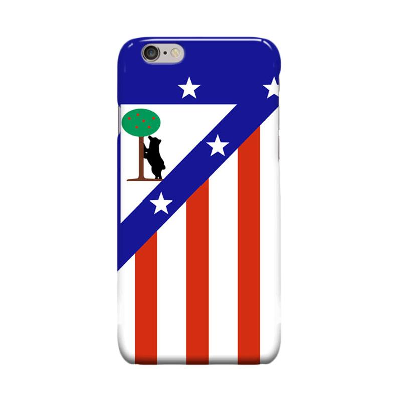 Indocustomcase Atletico Madrid Cover Casing for iPhone 6 Plus or 6S Plus