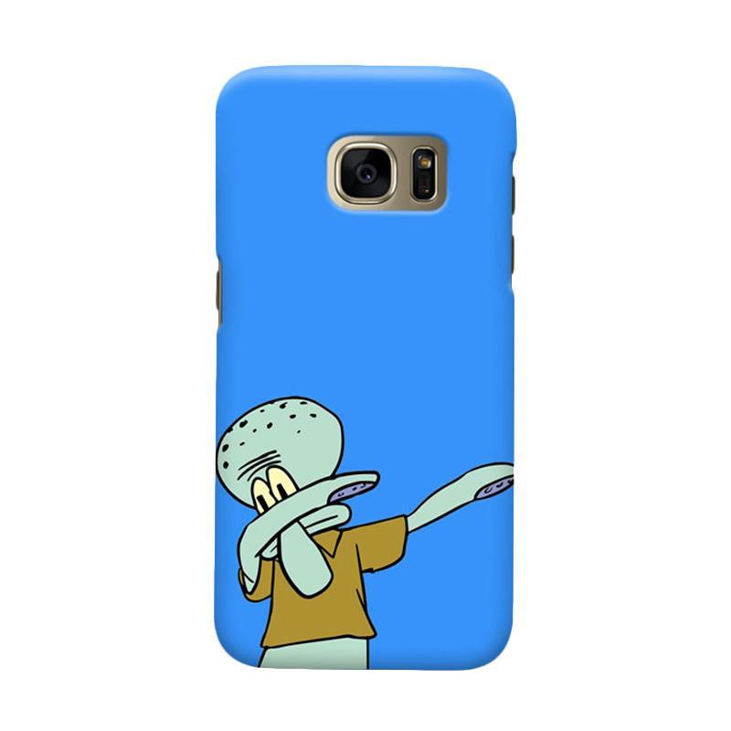 Indocustomcase Squidward Dap Casing For Samsung Galaxy S7 Edge