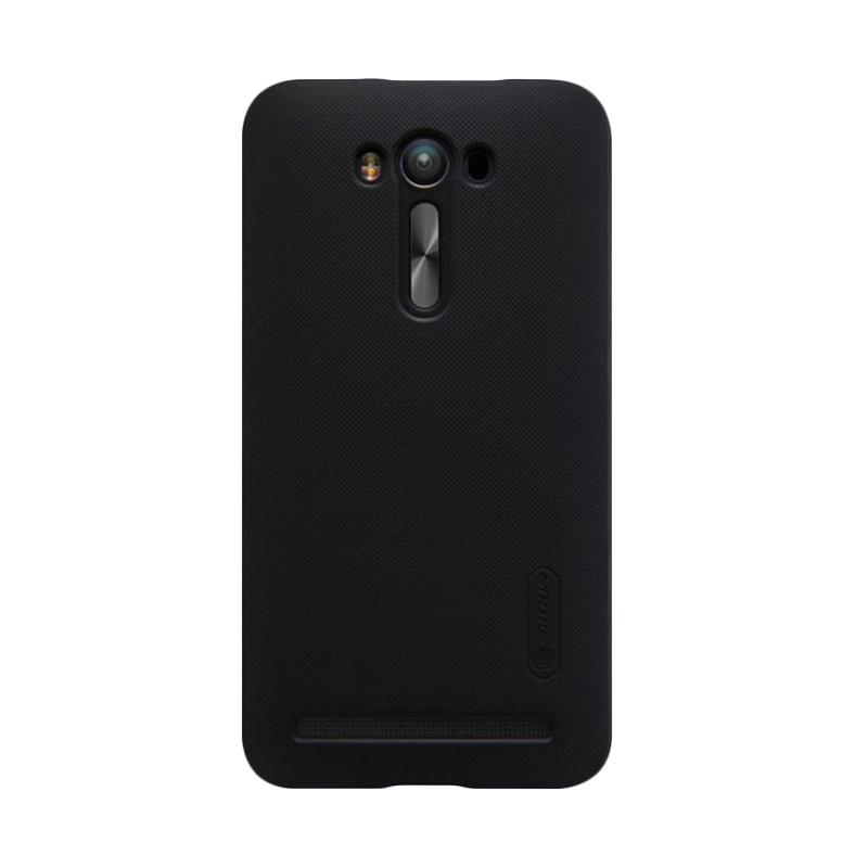Nillkin Original Super Shield Hardcase Casing for Asus Zenfone 2 Laser 5.5 Inch - Black [1 mm]