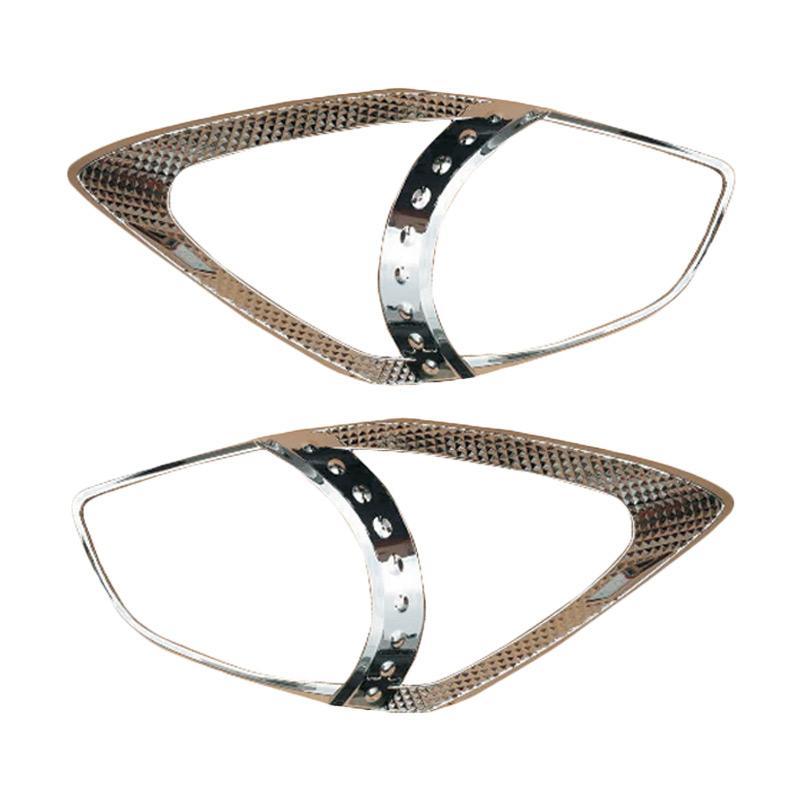 Autofriend AI-3082 Headlight Cover Garnish Pelindung For Toyota Agya/Ayla/Wigo 2012 ON