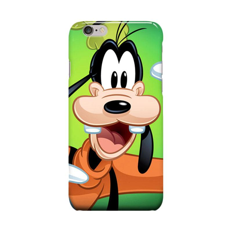 Indocustomcase Cartoon Goofy Cover Casing for Apple iPhone 6 Plus or iPhone 6S Plus
