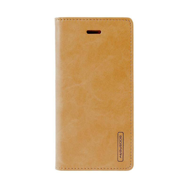 Mercury Goospery Bluemoon Flip Cover Casing for Samsung Galaxy J5 Prime - Gold