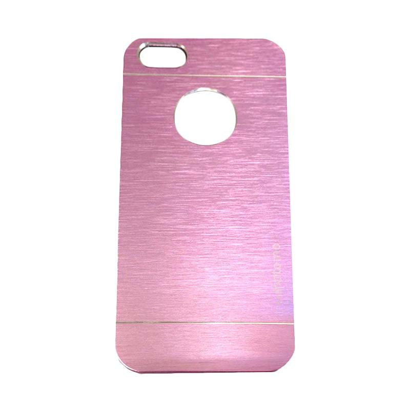 Motomo Metal Hardcase Backcase Casing for Apple iPhone 4/ iPhone 4/ iPhone 4G/ iPhone 4S - Pink