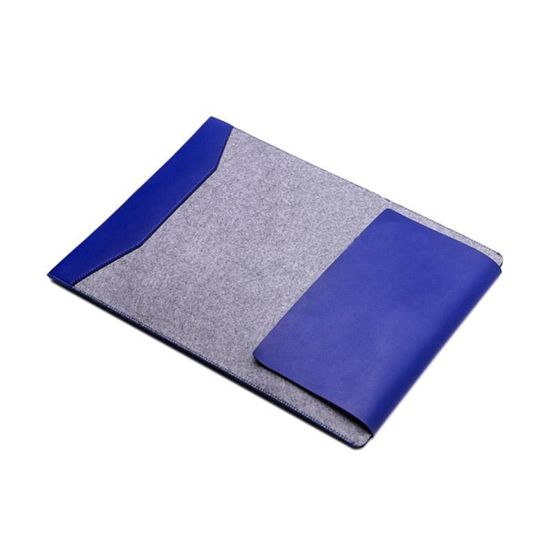 Cooltech Microfiber Laptop Sleeve for Macbook Pro Retina and Air 13 Inch - Biru