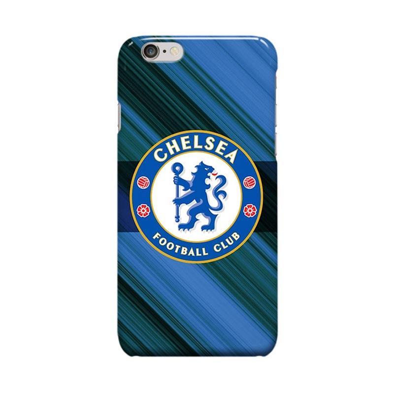 Indocustomcase Chelsea FC Logo CFC01 Cover Casing for iPhone 6 Plus or 6S Plus