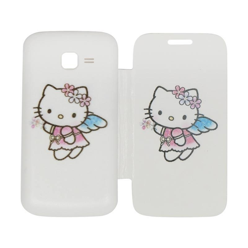 ed07f53c7 Jual QCF Flip Cover Gambar Hello Kitty Casing for Samsung Galaxy Star Pro /  Star Plus / Star S7260 / Star Duos S7262 Flipcase / Leather Case - Motif 1  ...