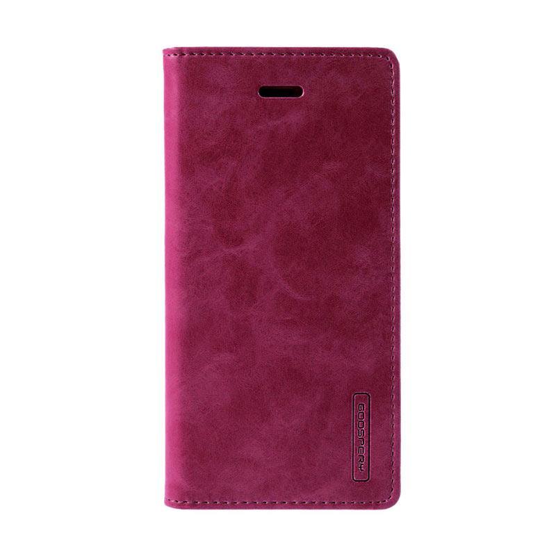 harga Goospery Mercury Bluemoon Flip Cover Casing for Samsung Galaxy Note 7 - Wine Blibli.com