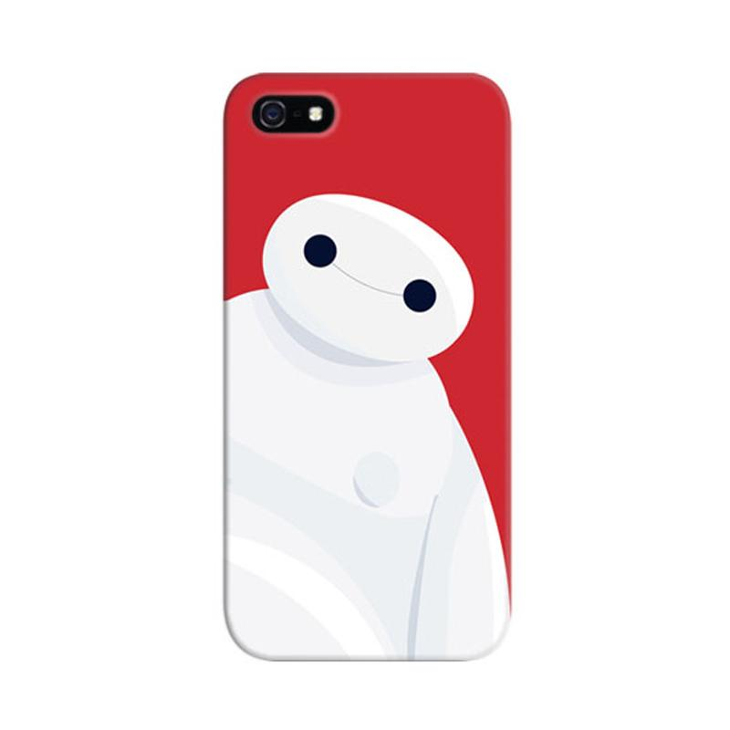 Indocustomcase Baymax Custom Cover Hardcase Casing for Apple iPhone 5/5S/SE