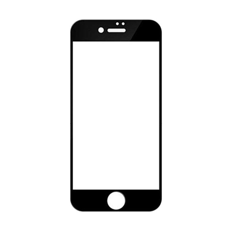 Ranmel Glass 4D Full Cover Tempered Glass Screen Protector for iPhone 6S or iPhone 6 4.7 Inch - Black