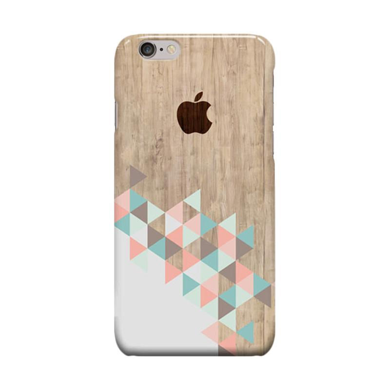 Indocustomcase Archi Wood Cover Casing for Apple iPhone 6 Plus or 6S Plus