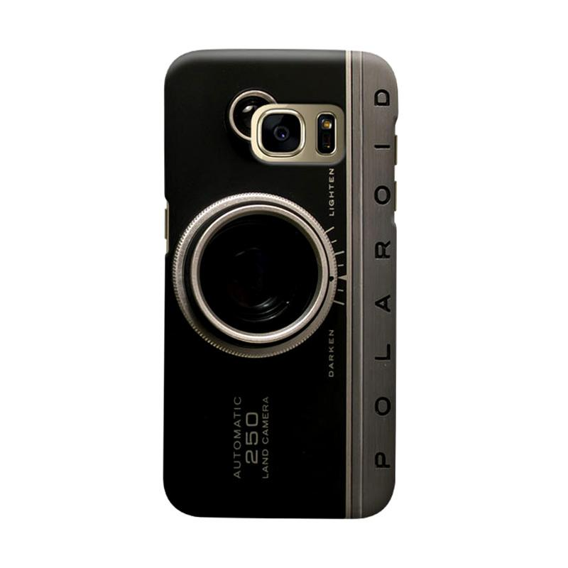 Indocustomcase  Camera Polaroid Casing for Samsung Galaxy S7 Edge